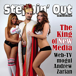 Steppin' Out Cover