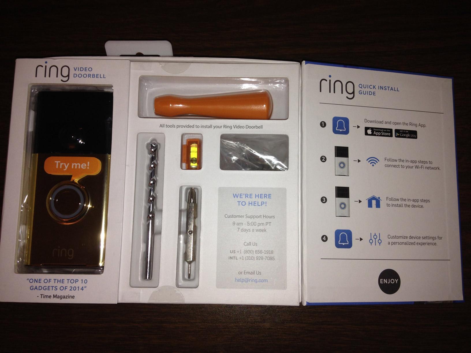 Ring Video Doorbell Review Gfq Network