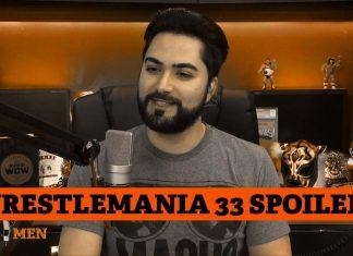 Wrestlemania 33 spoiler