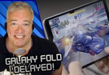 Galaxy Fold Delayed
